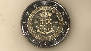 Des pièces de 2 euros frappées du blason de l'ULg pour marquer les 200 ans de l'Université