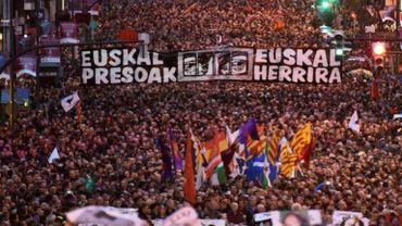 Référendum en Catalogne: des milliers de manifestants au Pays basque en soutien au référendum