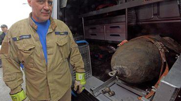 Il s'agit de la troisième bombe datant de la guerre découverte en l'espace de quelques semaines à Neu-Ulm.