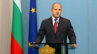 Roumen Radev, le président bulgare.