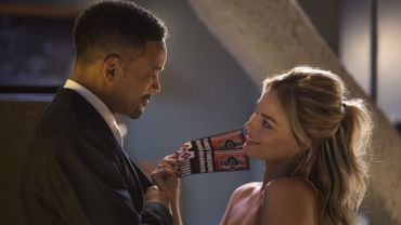 "Will Smith et Margot Robbie dans ""Diversion"""