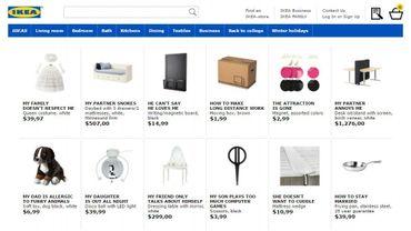 Quand IKEA utilise les recherches Google pour renommer ses meubles