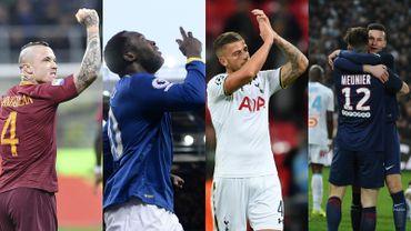 Bilan chiffré des Diables à l'étranger: Nainggolan voit double, record pour Lukaku, Alderweireld et Meunier les indispensables