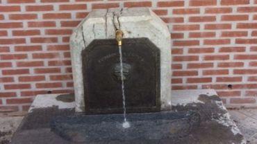 La fontaine rénovée