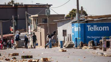 Un quartier pauvre de Johannesburg après une vague de violences xénophobes, le 3 septembre 2019.