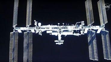 L'équipage se rendra seul sur la station spatiale.