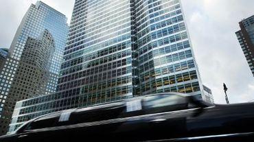 Siège de la banque américaine Goldman Sachs, dans le quartier de Manhattan à New York, le 16 janvier 2015.