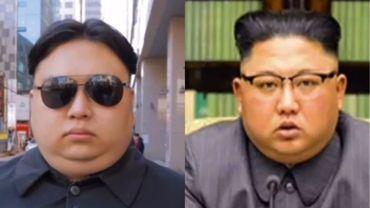 """Le sosie de Kim Jong-Un se promène en Corée du Sud: """"Certains veulent me frapper"""""""