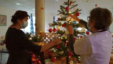Noël confiné : la fête, malgré tout, à l'hôpital psychiatrique du Beau-Vallon (Namur)