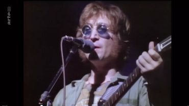 Archive Arte : l'unique concert solo US de John Lennon