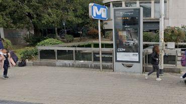 Un homme se trouvait vendredi soir en danger de mort après une agression dans la station  Botanique