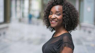 Cécile Djunga, nouvelle miss météo de la RTBF