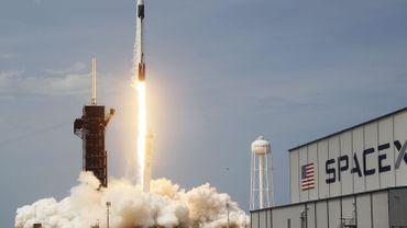 Le lancement de la fusée Falcon-9 de SpaceX, le 30 mai dernier, qui envoie des astronautes vers la Station Spatiale Internationale