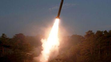 Les missiles ont été lancés depuis la province du Nord Pyongan.