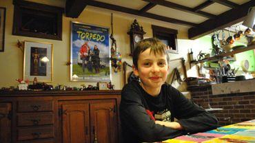 Cédric Constatin, 12 ans, à l'affiche du film Torpedo.