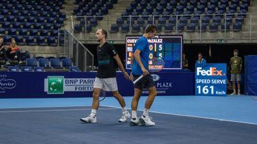 Steve Darcis et Arnaud Bovy en double à Anvers
