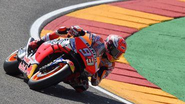 Marquez signe sa neuvième pole de la saison en Aragon