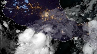 L'ouragan Max s'approche de la côte pacifique du Mexique