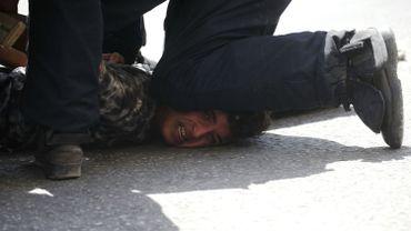 Les personnes interpellées sont soupçonnées d'avoir mené des actes de protestation violents.