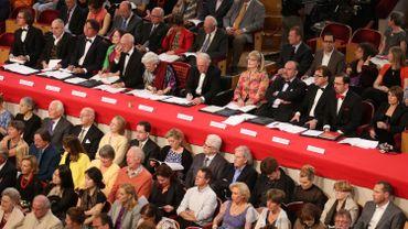 Le jury de la finale chant du Concours Reine Elisabeth en 2014