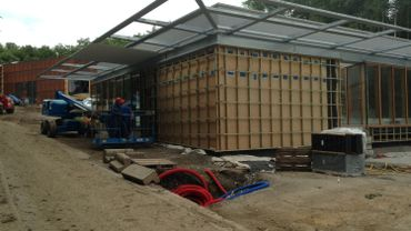 De nouveaux bâtiments éco-compatibles accueilleront les visiteurs du Préhistomuseum.