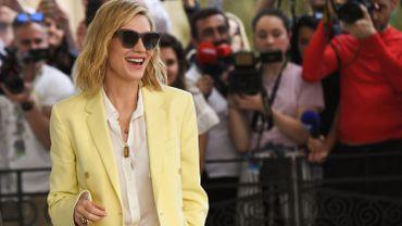 La Présidente du jury 2018, Cate Blanchett est arrivée hier à Cannes
