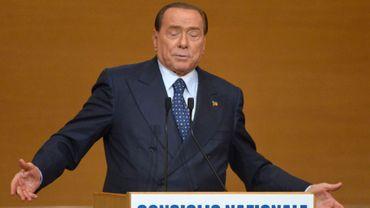 """Pour Silvio Berlusconi, le vote de """"déchéance"""" du Sénat est un """"coup d'Etat"""" fomenté par la gauche"""