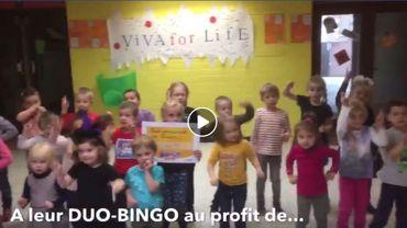 """Des enfants reprennent déjà le titre """"Viva for Life"""" de Jean-Luc Fonck"""