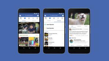 """Facebook part en guerre contre YouTube avec """"Watch"""""""