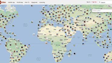 Les panoramas disponibles sur 360cities.net