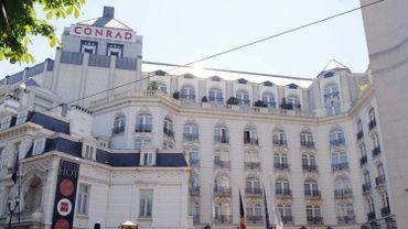 Les faits s'étaient déroulés dans cet hôtel prestigieux de Bruxelles (aujourd'hui appelé Steigenberger)