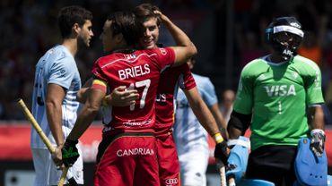 Vainqueurs 4-1 de l'Argentine, les Red Lions joueront les Pays-Bas en 1/2