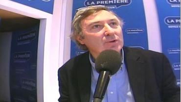 Hugues Dayez en studio