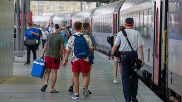 La SNCB prévoit dix trains de réserve au cas où trop de monde va à la mer ce week-end
