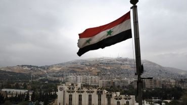 Illustration: le drapeau syrien