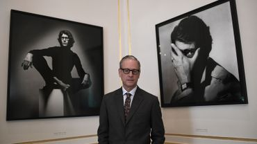 Le vice-président de la fondation Berge-Saint Laurent, Madison Cox, dans le nouveau musée Yves Saint Laurent à Paris.