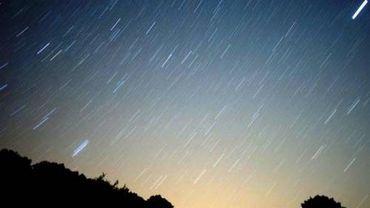 Pluie d'astéroïdes
