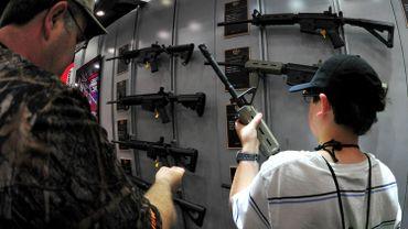 La demande en armes s'était accrue suite à la tragédie de l'école de Sandy Hook en décembre 2012. Les ventes sont plus faibles aujourd'hui.