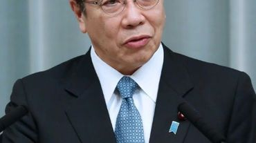 Le principal porte-parole du gouvernement japonais, Katsunobu Kato, le 14 février 2021 à Tokyo