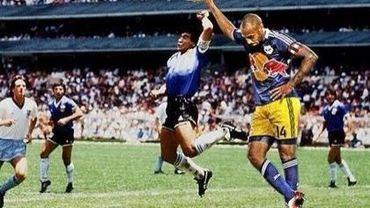Thierry Henry et Maradona