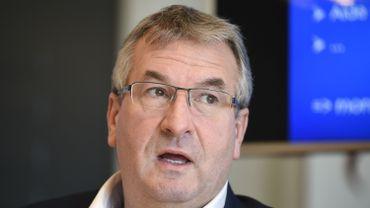 Le ministre wallon de l'Economie Pierre-Yves Jeholet