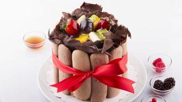 Recette de Noël: charlotte au chocolat super facile