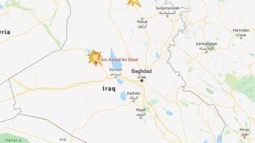L'Iran tire 22 missiles contre deux bases américaines en Irak, et menace des alliés des États-Unis