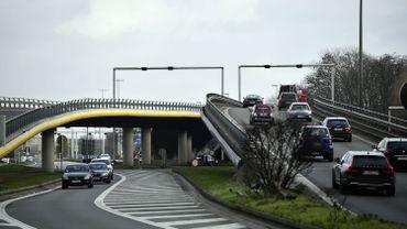 Grèves sur le rail: le trafic routier moins dense que d'habitude