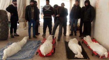 A Yarmuk, des corps de personnes qui seraient décédées de malnutrition, selon l'Observatoire syrien des droits de l'homme