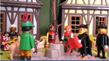 Exposition Playmobils aux Archives de l'Etat à Saint-Hubert