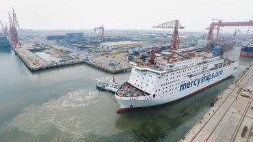 """Une fois terminé, le """"Global Mercy"""" prendra la direction de l'Afrique où il passera 10 mois par an amarré dans différents ports africains"""