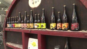 """La gamme de la brasserie a évolué en 10 ans. Des bières belges classiques au début """"pour apprendre le métier"""" à des bières plus originales et contemporaines aujorud'hui"""