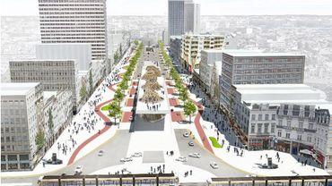 A quoi va ressembler le Bd de Waterloo et l'Avenue de la Toison dans le futur?