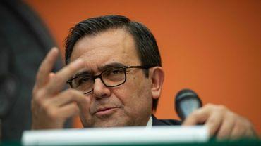 Le ministre mexicain de l'Economie Ildefonso Guajardo, le 27 août 2018 à Washington.